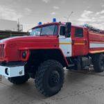 Районы тюменской области получили новые пожарные автомобили