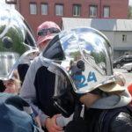 На базе Тюменского поисково-спасательного отряда состоялся открытый урок для детей оздоровительного лагеря с дневным пребыванием.