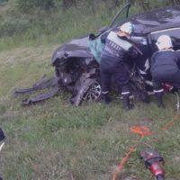 Ликвидация последствий дорожно-транспортного происшествия. 25 км Ялуторовского тракта 04.07.2019г