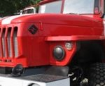 Новая пожарная автоцистерна для муниципального поста пожарной охраны с. Червишево Тюменского муниципального района