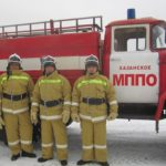 Совместные проверки деятельности муниципальных постов пожарной охраны Вагайского муниципального района.