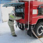 Проверка готовности работников  муниципальных постов пожарной охраны к тушению пожаров