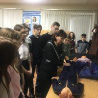 Экскурсия для учеников СОШ с. Мальково.