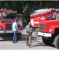 Новые пожарные автоцистерны для муниципальной пожарной охраны Тюменской области.