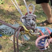 10 июля на территории парка «Гилевская роща» прошли совместные учения спасателей.