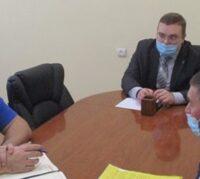 Рабочая встреча в администрации Тюменского муниципального района