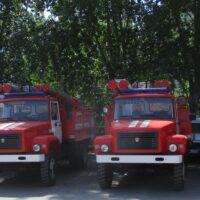 Новые пожарные автоцистерны для муниципальной пожарной охраны Тюменской области