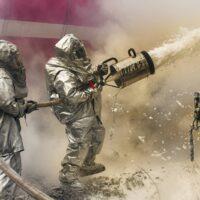 Спасатели областной службы спасения приняли участие в практической части штабной тренировки по гражданской обороне.